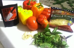 pepper bruschetta