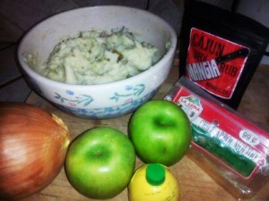 Mashed Potato Pancakes w Mangia Apple Chutney 1
