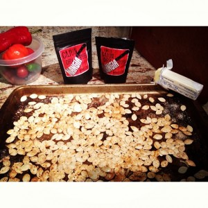 mangia pumpkin seeds