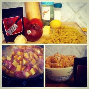 sweet mangia buttnut squash pasta