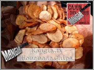sweet cajun chips