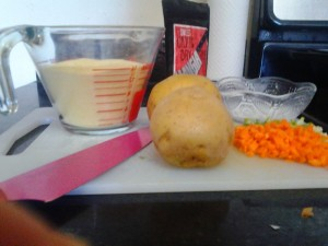 Sweet Mangia Cornmeal and Potato Cakes
