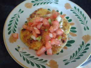 Sweet Mangia Cornmeal and Potato Cakes